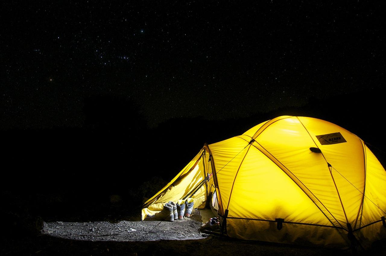 定年後にやってみたいこと。 ソロキャンプ